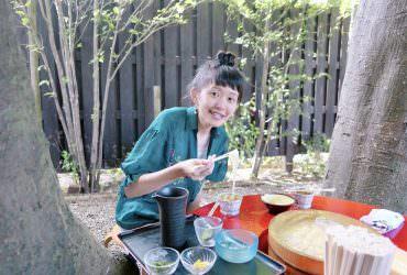 埼玉|東京近郊也吃得到流水素麵(流水麵線)!秩父鐵道長瀞的花之款待長生館
