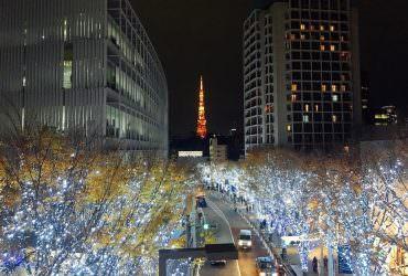 六本木|六本木之丘聖誕燈飾節 櫸坂絕美東京鐵塔拍照點!東京冬季推薦景點