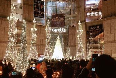 汐留|東京冬季浪漫點燈 迪士尼主題燈飾 Caretta汐留