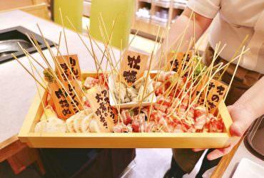 橫濱港未來|新開幕!無油煙串炸DIY吃到飽「串葉」~自己動手炸樂趣多!橫濱世界之窗(World Porters)美食推薦