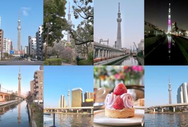 東京晴空塔拍照攝影景點七選+藏前風格咖啡店 半日行程推薦 藏前淺草