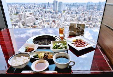 高級燒肉店「敘敘苑」午間套餐好划算!坐擁30樓城市美景太夢幻|東京晴空塔美食