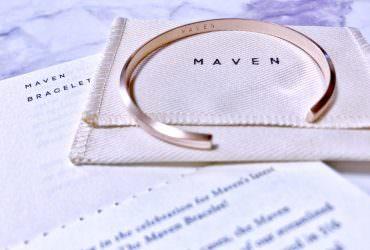 極簡風格飾品 925純銀Maven Bracelet!玫瑰金手鐲開箱