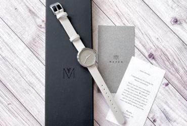 極簡風格手錶 Maven Watches 簡約系列錶款開箱|小情報:台灣門市增點囉!