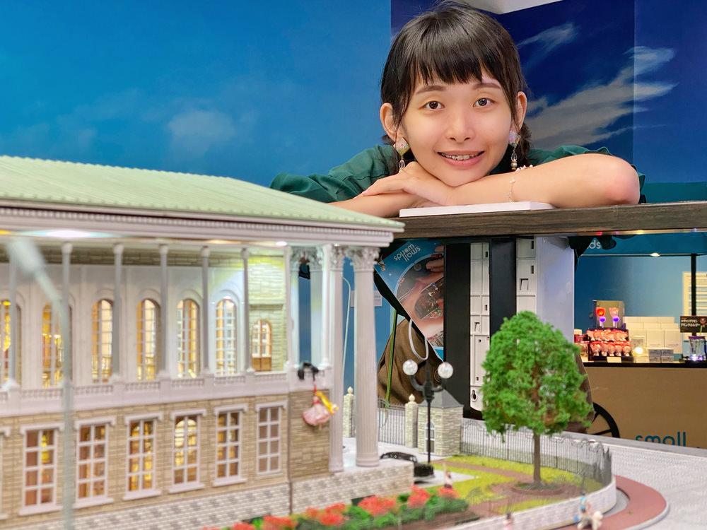 台場有明 SMALL WORLDS TOKYO 美少女戰士區