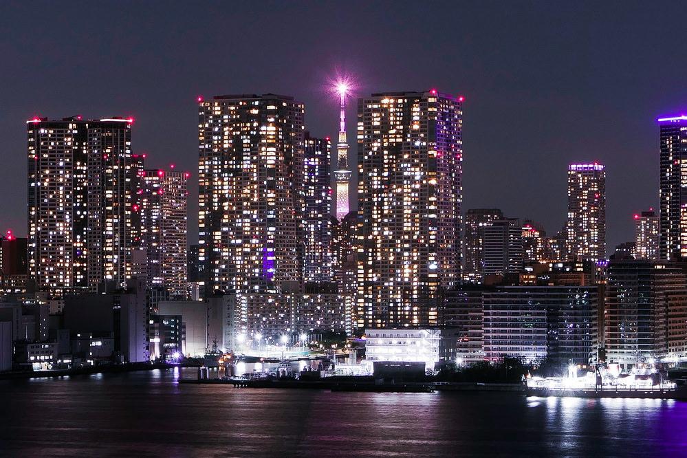 最新東京晴空塔拍照景點